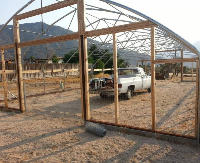 Building the Greenhouses 6